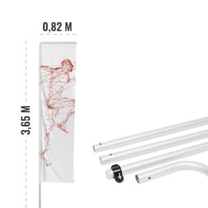Maszt aluminiowy do winderów - AxOx Media
