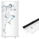 Rollup reklamowy Basic 100x200cm - AxOx Media